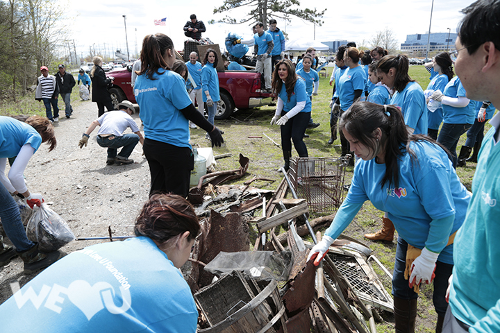 More than 300 Volunteers Clean Up Overpeck Park