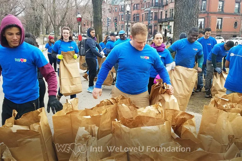 commonwealth mall clean up