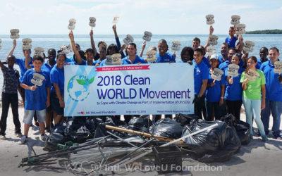 WeLoveU Volunteers Clean Key Biscayne's 70-Year-old Beach Park