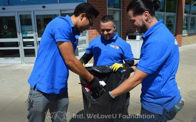 Leominster Receives Double Dose of WeLoveU Volunteer Service