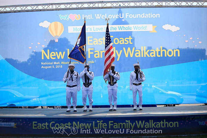 WeLoveU Foundation hosts its first walkathon in America at the National Mall in Washington, D.C.