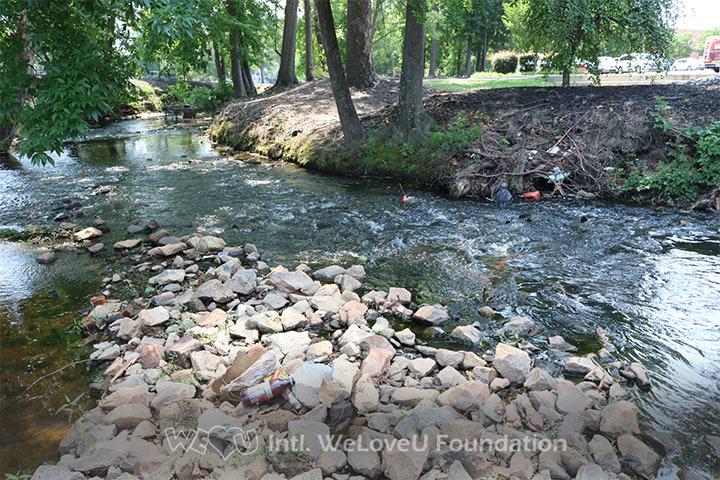 cross creek clean up