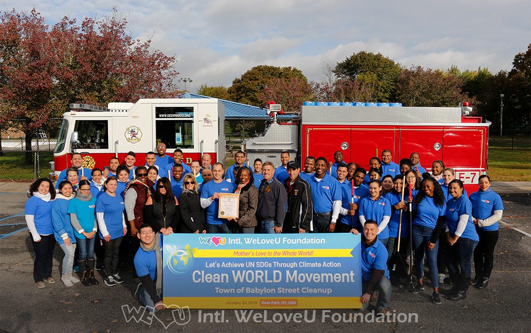 The Streets in Suffolk County Are Abuzz With WeLoveU Volunteers