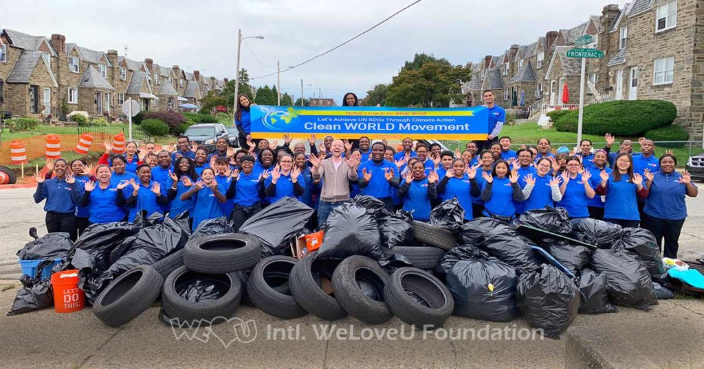 WeLoveU carries out Summerdale Avenue cleanup