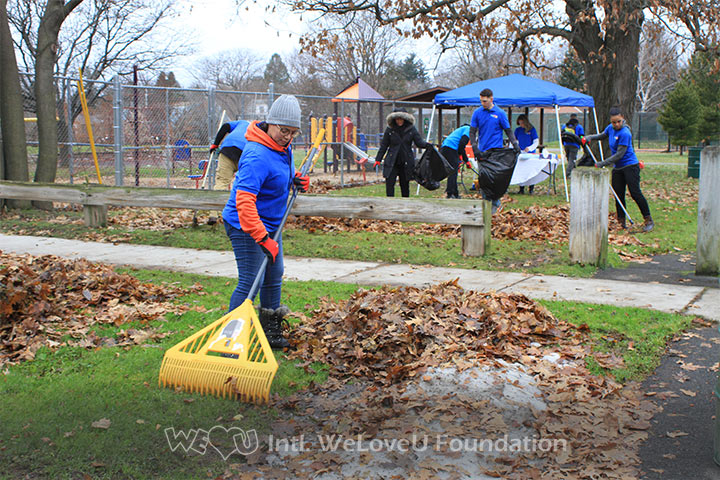 Comfort Tyler Park Cleanup in Syracuse, NY
