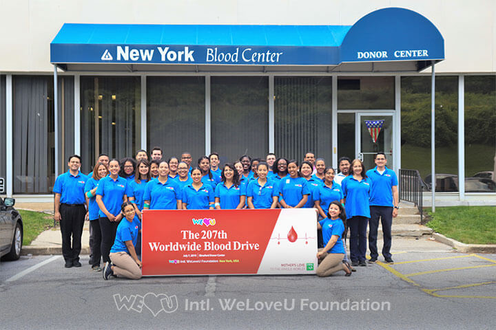 WeLoveU Foundation, Elmsford, NY, Blood Drive