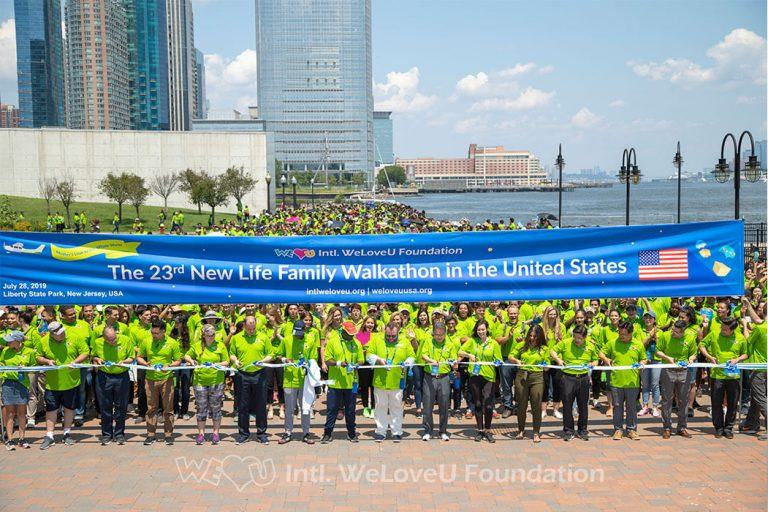 The 23rd New Life Family Walkathon in the United States on Sunday, July 28, 2019.