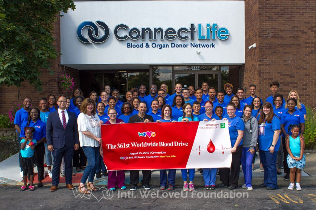 group photo, WeLoveU, ConnectLife, Buffalo