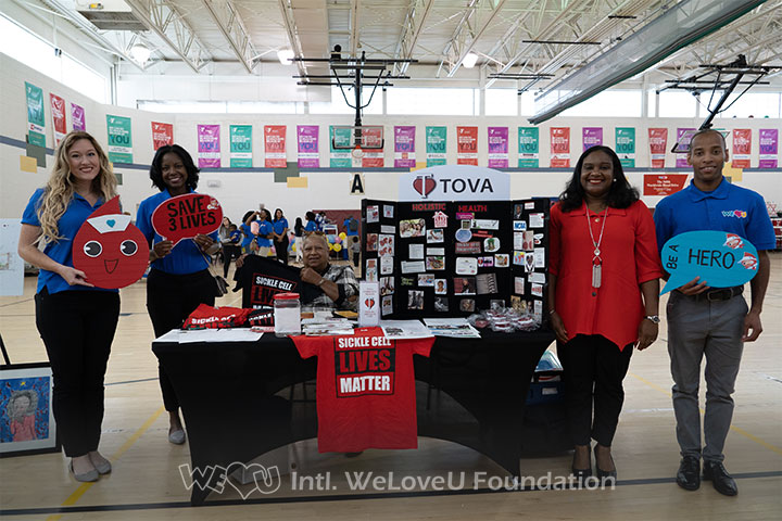 tova community health, partnership, weloveu foundation, worldwide blood drive