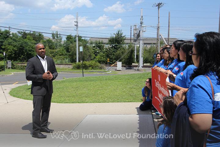 WeLoveU Foundation, Charles Wilson, RWJ, Robert Wood Johnson, Vice President of Operations, Blood Drive, South Amboy YMCA
