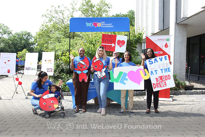 WeLoveU, Blood Drive, Blood Donation, Saving Lives, Oradell, NJ