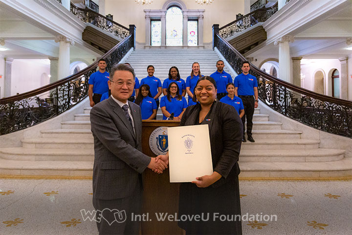 WeLoveU awarded with Citation in Boston