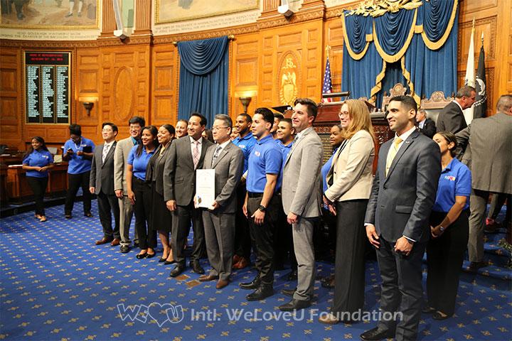 Multiple MA Representatives with WeLoveU Foundation