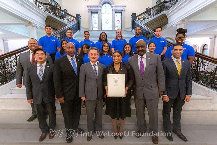 MA State Rep Liz Miranda honors WeLoveU